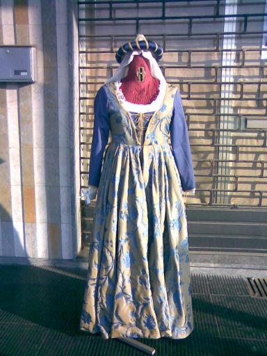 abito nobiliare quattrocentesco