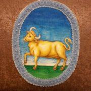 stemma araldico dipinto