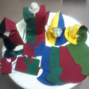 surcotti pellegrine bicolore